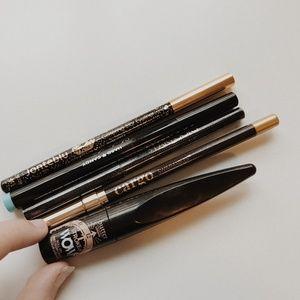• DRUGSTORE • liquid & pencil eye liner bundle